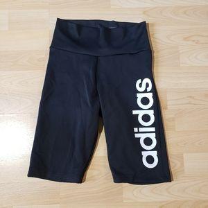 ADIDAS aeroready high waisted biker shorts